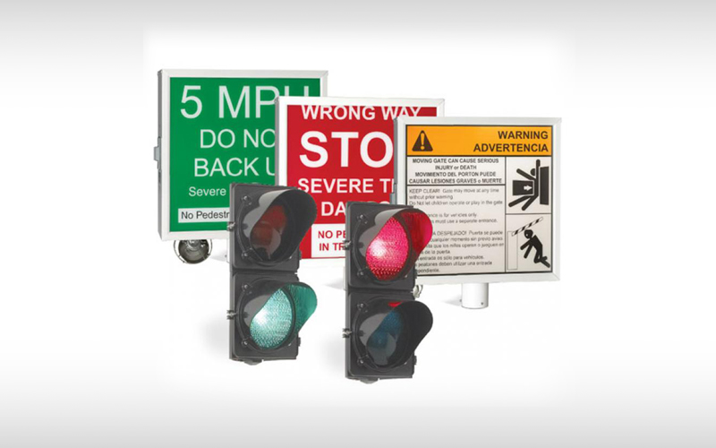 1610 Warning Signs & Traffic Signal